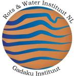 rots en water logo met tekst