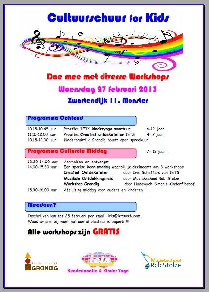 flyer cultuurschuur for kids 27 feb. jpg